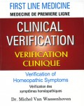 Clinical verification - Verification of homeopathic symtoms: Experience and Practice
