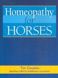 Homeopathy for Horses (second edition)
