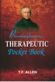 Boenninghausen's Therapeutic Pocketbook