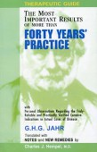 Therapeutic Guide - 40 Years Practice