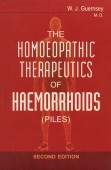 The Homeopathic Therapeutics of Haemorrhoids